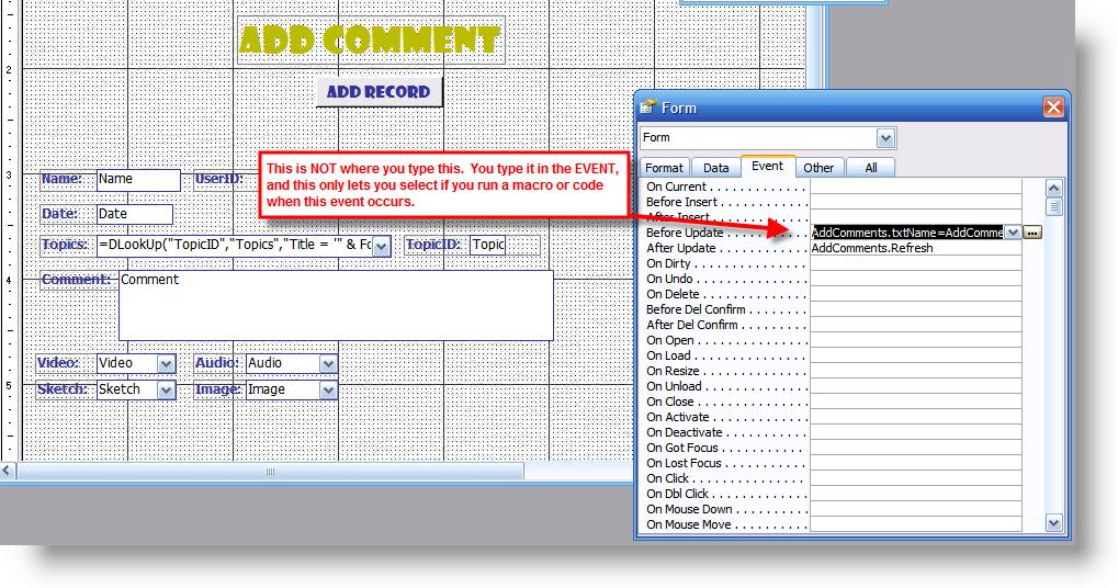 Filtering via. buttons - UtterAccess Forums